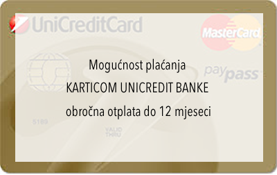 Obročna otplata - Unicredit Bank