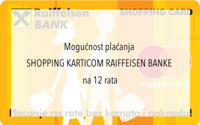 Plaćanje Shopping karticom Raiffeisen Bank